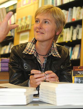 Portrait de Frédérique Germanaud
