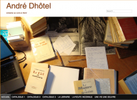 SIte André Dhotel Le livre a venir